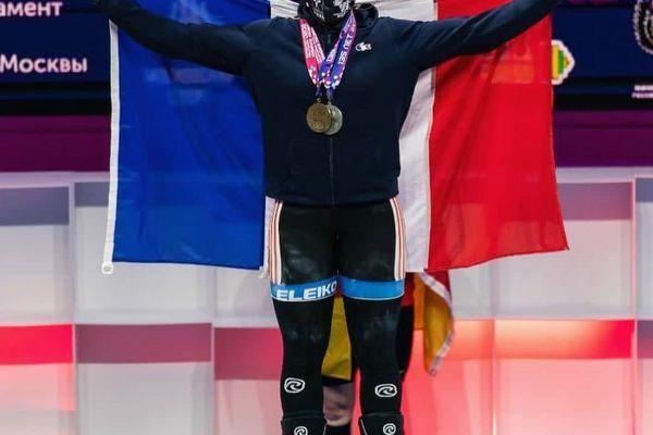 Gaëlle Nayo Ketchanke a remporté l'or et l'argent aux Championnats d'Europe d'haltérophilie à Moscou - 11 avril 2021