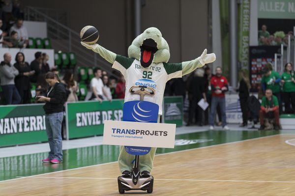 La mascotte du club, quand celui-ci se nommait encore CCRB, le 16 décembre 2021.