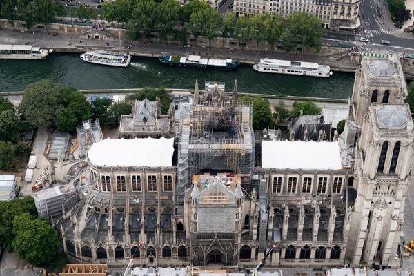 Les travaux s'étaleront sur plusieurs années après l'incendie en avril de Notre-Dame.