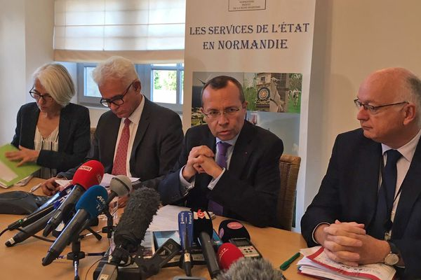 Lubrizol : conférence de presse du préfet de Normandie et de Seine-Maritime le mercredi 2 octobre 2019