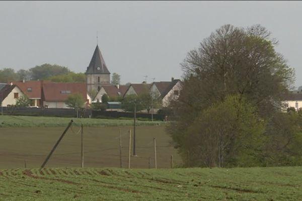Le bourg de Bréauté