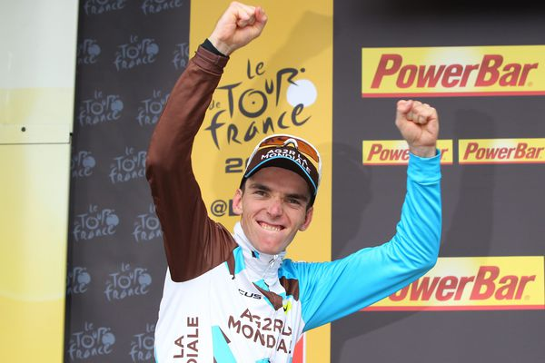 Le Brivadois Romain Bardet remporte le Vélo d'or « France » 2016.