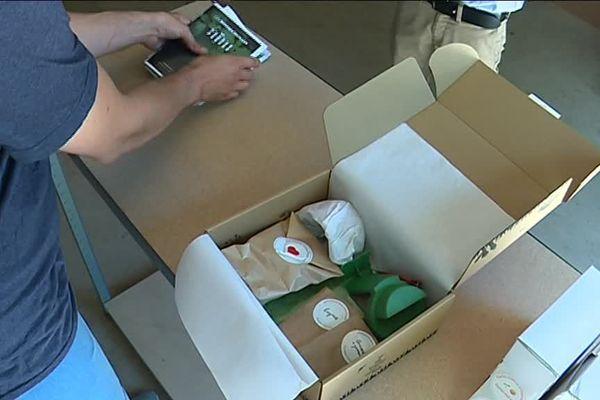 Pousse-pousse est une start-up catalane qui conçoit et commercialise des boxs de jardinage