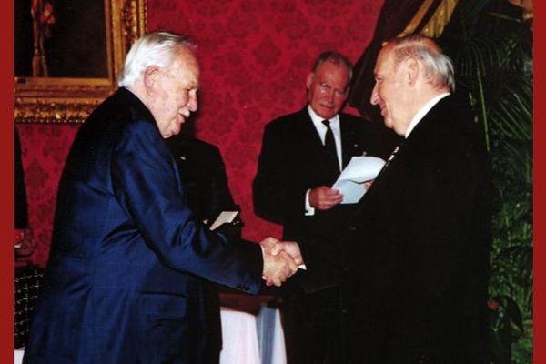 SAS  le Prince Rainier III et Alain Frère.
