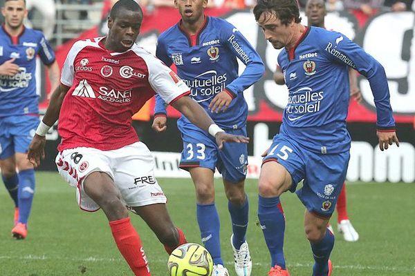 L'OGC Nice a fait un grand pas vers le maintien en s'imposant à Reims.