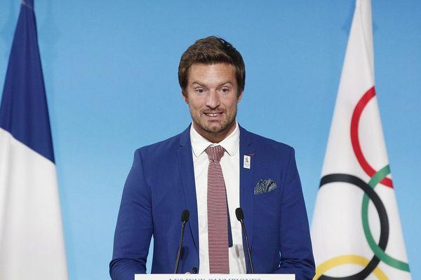Charles Rozoy à l'Elysée, le 15 septembre 2017