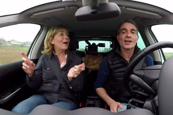Valérie Mathieu et Richard Beaune sur la route de l'extrême en Auvergne