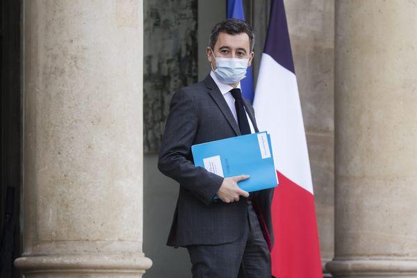 Le ministre de l'Intérieur, Gérald Darmanin.