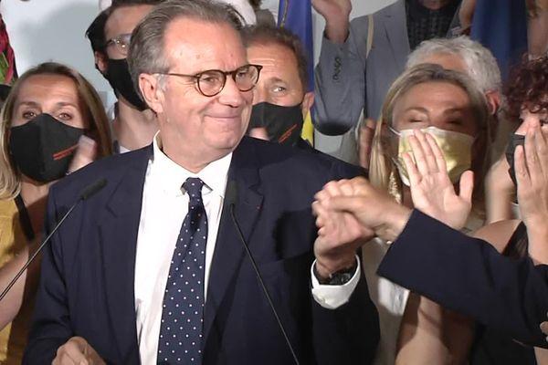 Renaud Muselier en tète du second tour des régionales en Paca selon nos estimations avec 57,3% des voix