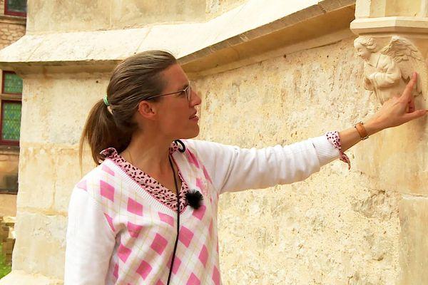 C'est désormais Angélique de Saint-Éxupéry qui supervise les travaux de rénovation des lieux, assurés notamment par des compagnons du tour de France
