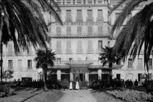 Le Grand hôtel d'Orient au début du XXème siècle