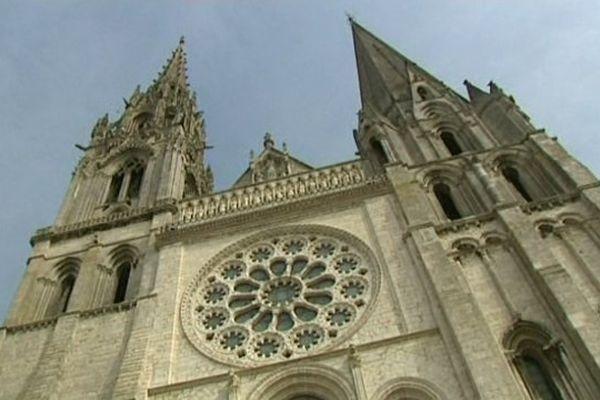 Chantier du Groupe Villemain : la cathédrale de Chartres