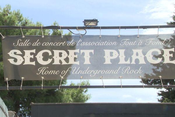 La Secret Place, club rock près de Montpellier