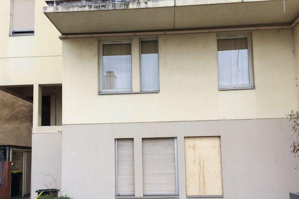 L'appartement où a été retrouvé le corps rue Jean Say