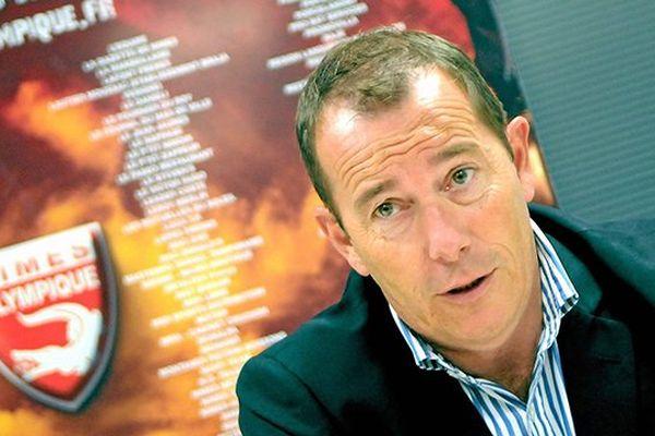 Jean-Marc Conrad, ancien président du Nîmes Olympique, en 2014