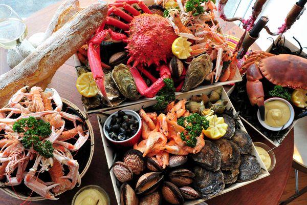 Les plateaux de fruits de mer vont trôner sur les tables des réveillons.