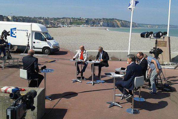 Tournage La Voix est Libre à Dieppe