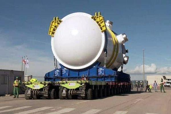 La cuve du réacteur EPR de Flamanville a été fabriquée à l'usine Areva du Creusot.