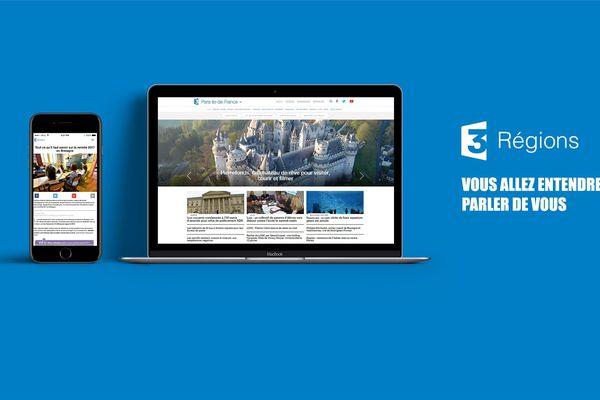 Le nouveau site de France 3 en régions