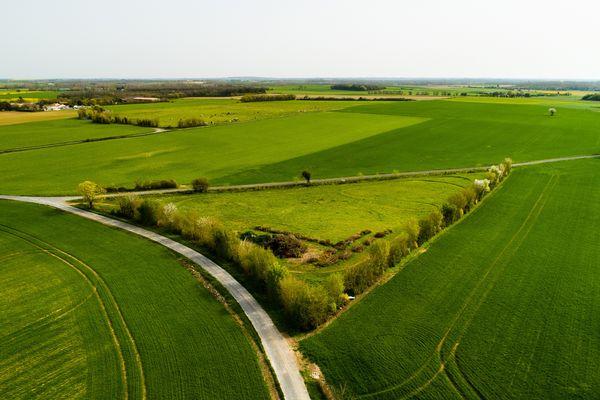 La commune de Landrais en Charente-maritime cherchait une solution pour ce terrain délaissé.