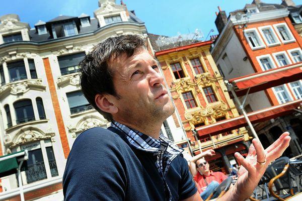 Cédric Vasseur, en 2010.