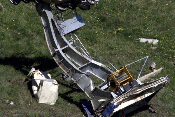 L'accident de téléphérique du pic de Bure (Hautes-Alpes) avait fait 20 morts le 1er juillet 1999.