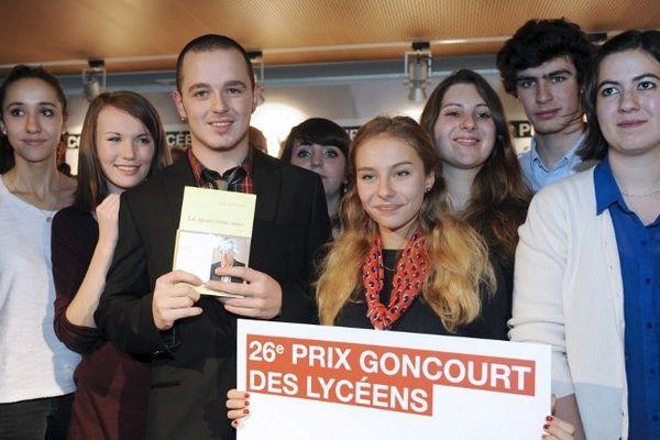 La remise du 26e prix du Goncourt des Lycéens à Rennes le 14/11/2013