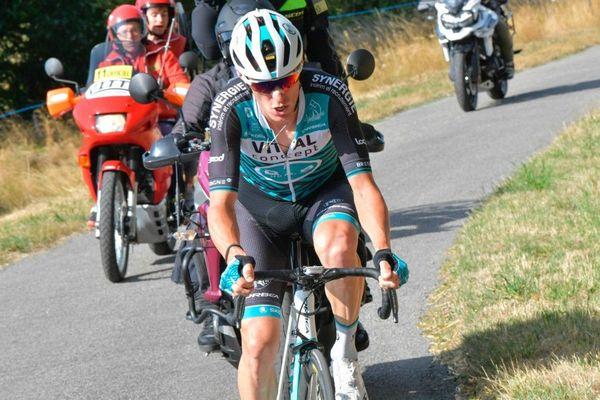 Pierre Rolland au Tour du Limousin 2019.