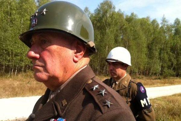 Michel Guenot, le sosie officiel du général Patton.
