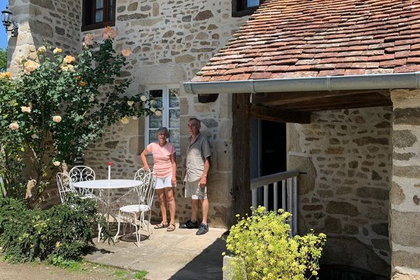 A Glénic dans la Creuse, des propriétaires de gîtes heureux