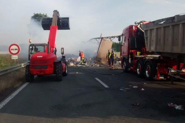 L'accident a eu lieu vers 18 heures.