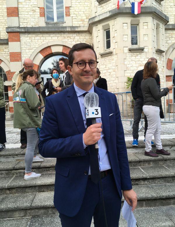 Arnaud Magloire, le nouveau maire de Sainte-Savine, dans l'Aube.