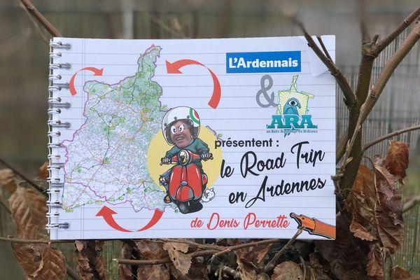Le Road trip en Ardennes, le précédent livre de Denis Perrette
