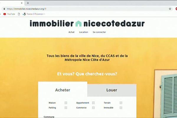 Un site pour vendre les biens de la ville de Nice ou encore de la Métropole.