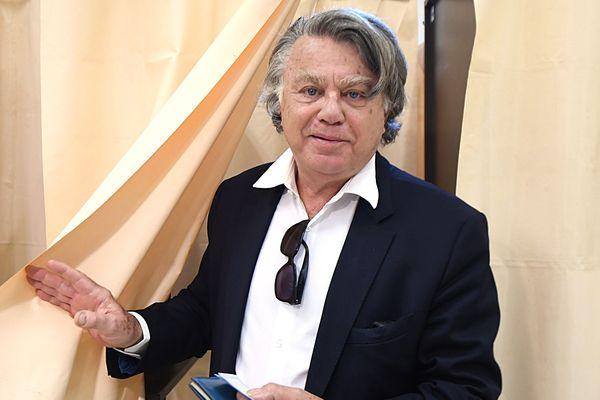 Le député du Gard, Gilbert Collard est candidat aux élections européennes sur la liste Rassemblement national.
