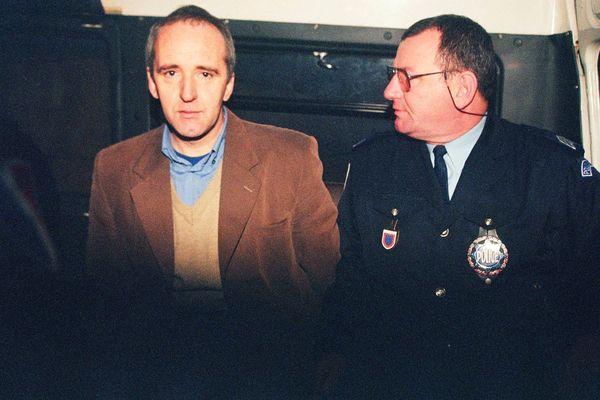 Dany Leprince en 1997 lors de son procès.