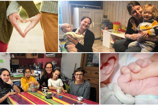 Elles habitent en Centre-Val de Loire. Alors que le débat sur l'ouverture de la PMA à toutes les femmes a commencé à l'Assemblée nationale, elles nous ont raconté leurs histoires sur leur famille ou leurs tentatives pour en avoir une.