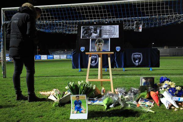 Cérémonie d'hommage à Emiliano Sala - Stade René Gaillard - Niort (23/01/2019)