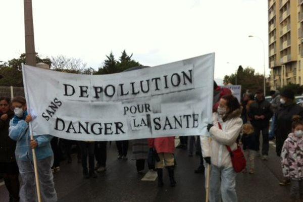 Les associations et habitants dénoncent les terres polluées qui sont pas en mesure de recevoir le projet immobilier d'un promoteur montpelliérain