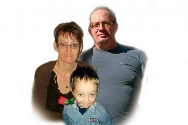 Sylvie et Yves Bayeuil et leur fils, décédés dans un accident de voiture.