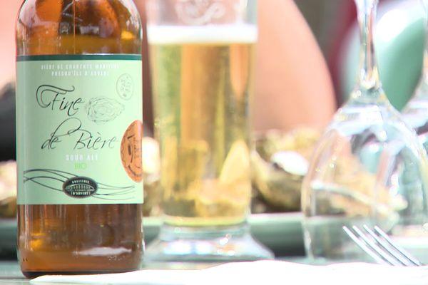 La Fine de Bière a très vite trouvé sa place sur les terrasses de la Tremblade et des environs.