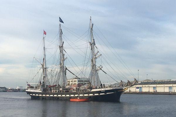 Le Belem est arrivé dimanche 17 octobre au Havre. Des visites sont organisées jusqu'en novembre sur le mythique voilier.