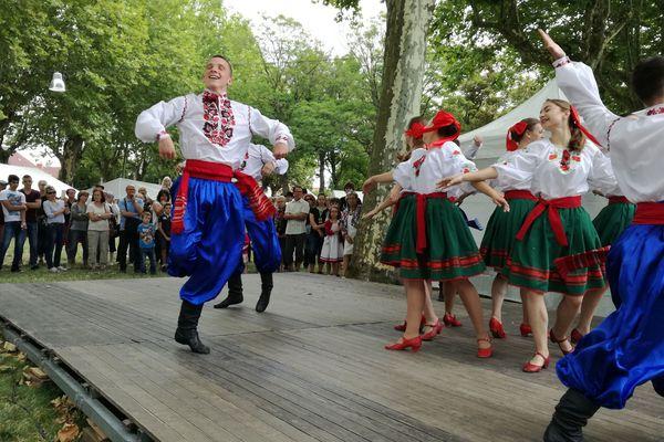 Ukraine, Panama, Côte d'ivoire... Plus de 350 artistes venus du monde entier vont jouer à Gannat dans l'Allier jusqu'au 30 juillet.