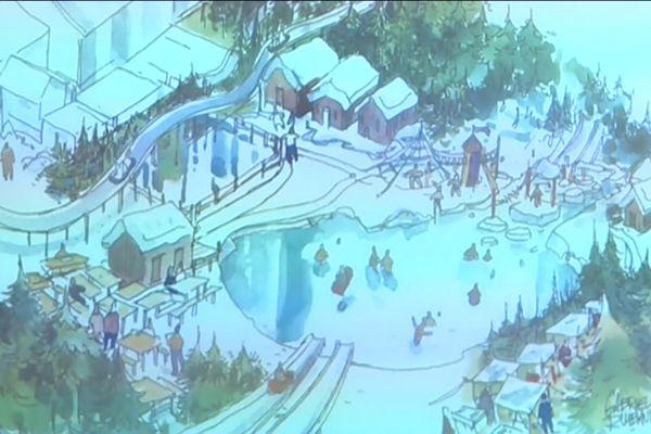 Les équipements du parc de la glisse devraient être livrés au printemps 2020.