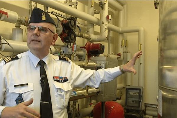 La rénovation thermique est aussi source de qualité de vie pour les 3000 personnels de la base.
