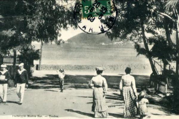 La station de Tamaris, née à la fin du 19ème siècle à La Seyne-sur-mer.