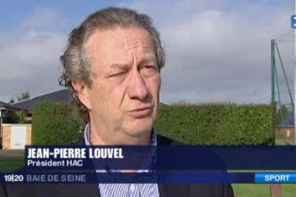 Jean Pierre Louvel, président du HAC