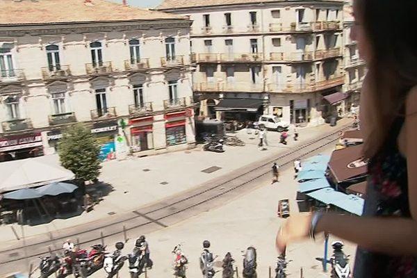 Coliving dans le quartier gare de Montpellier, c'est la solution adoptée par Marie José, étudiante bolivienne.