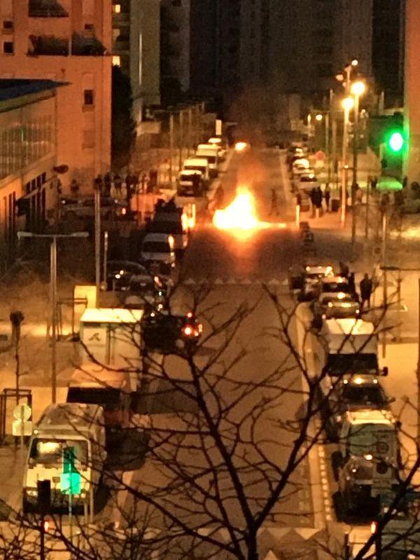 Incidents à Nice, dans le quartier des Moulins, le 20 mars 2020
