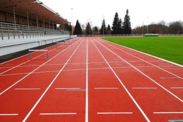 La piste d'athlétisme de Limoges à Beaublanc